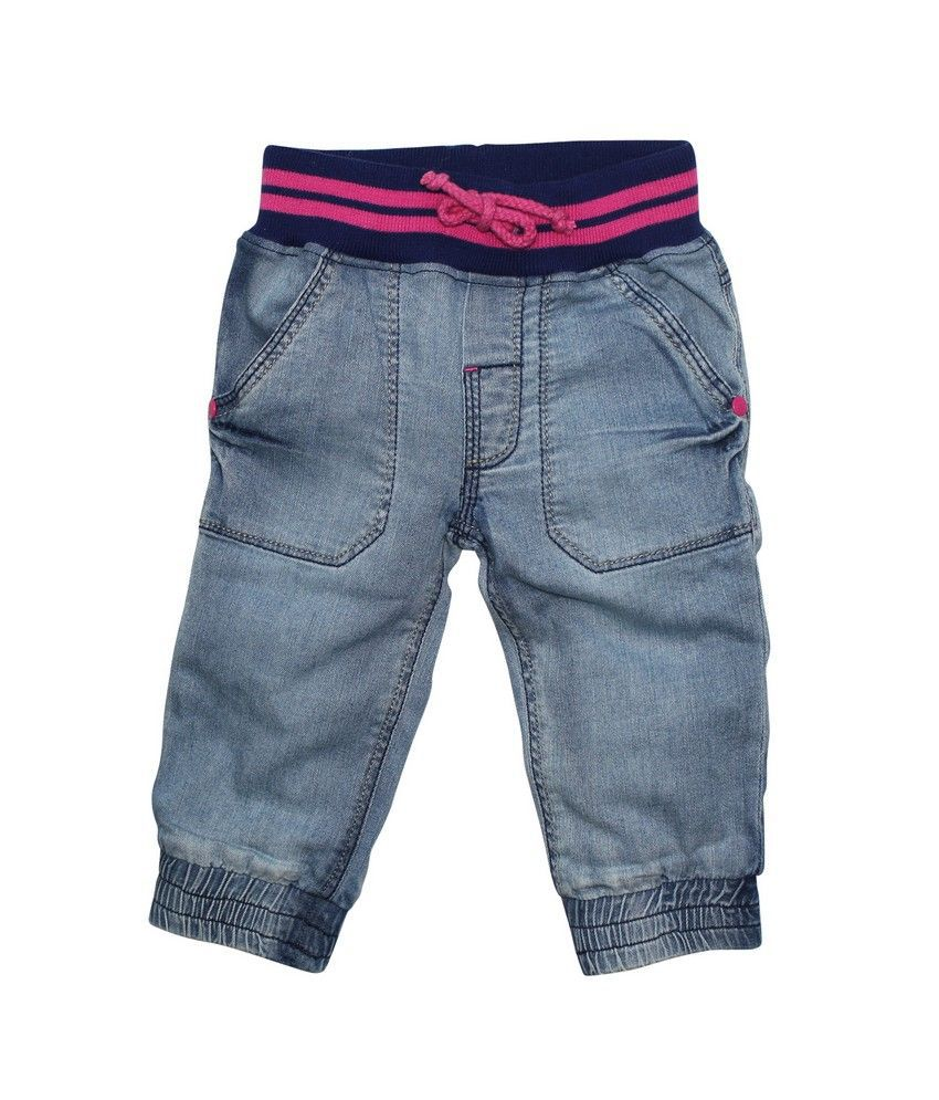 FS Mini Klub Light Wash Denim Capri