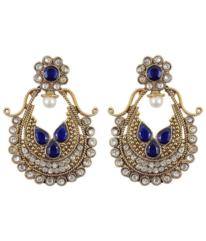 how much are earrings much more wear fashion polki earring 1156