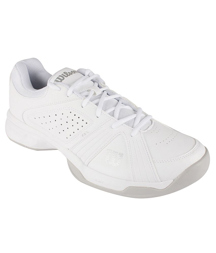 Wilson Rush Swing White Sport Shoes  Buy Online at Best Price on Snapdeal 99dc6807cd5