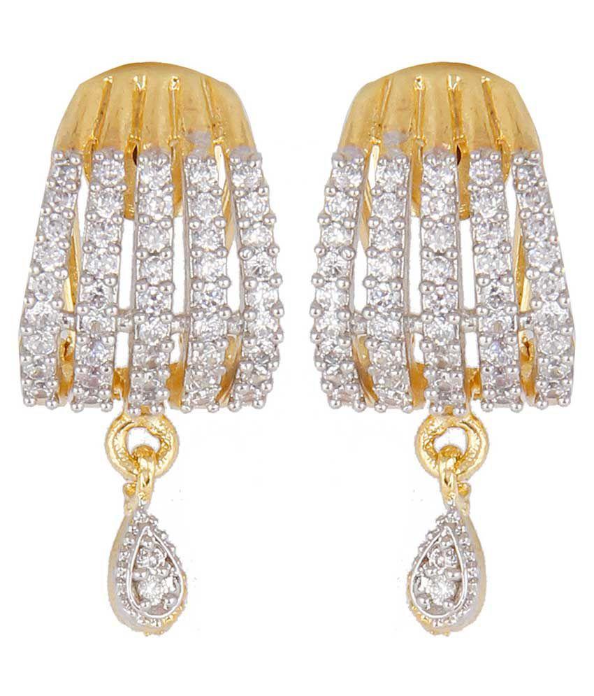 Eccellente American Diamond Artificial Earrings Buy Eccellente