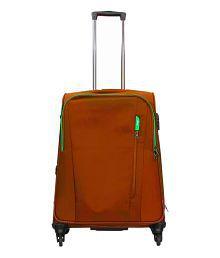 Vip Orange Cloudlite Spinner 4 Wheel Trolly - 24 Inches