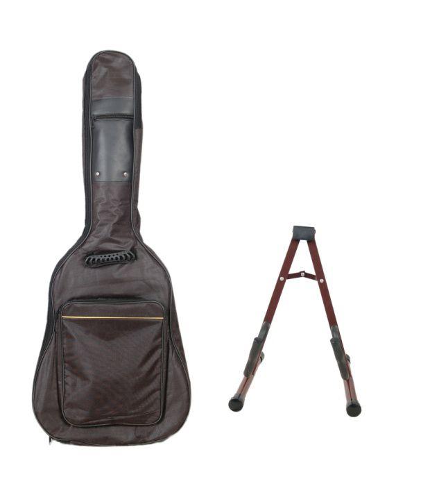 Kadence Combo Of Guitar Stand And Guitar Bag
