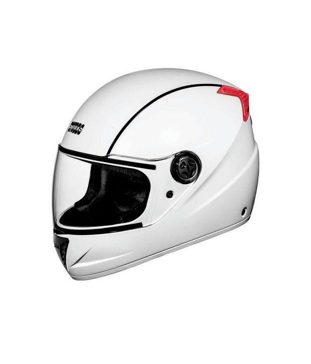 STUDDS - Full Face Helmet - Professional (White) [Large - 58cm]