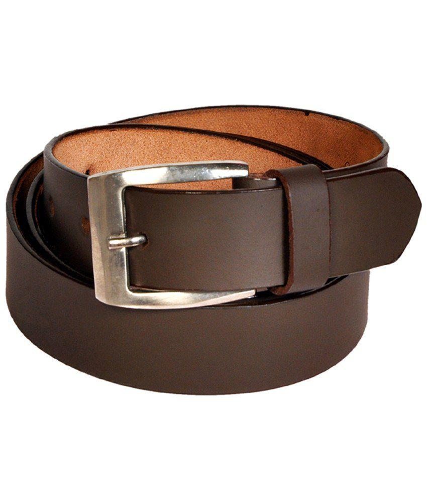 Style Ambience Brown Formal Belt