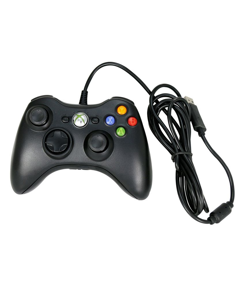 Buy Mobacc Black Wire Controller For Xbox-360 Online at Best Price ...