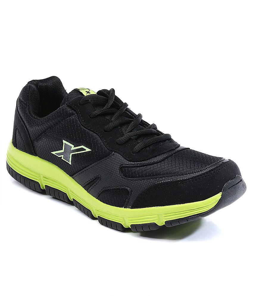 Sparx Black Men Sport Shoes