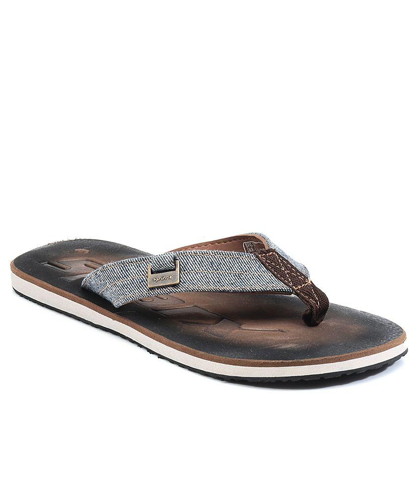 f8ad41097ce Sparx Brown Men Flip Flops Price in India- Buy Sparx Brown Men Flip Flops  Online at Snapdeal