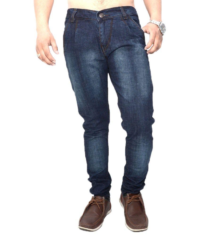 Nation Mania Feisty Blue Jeans For Men