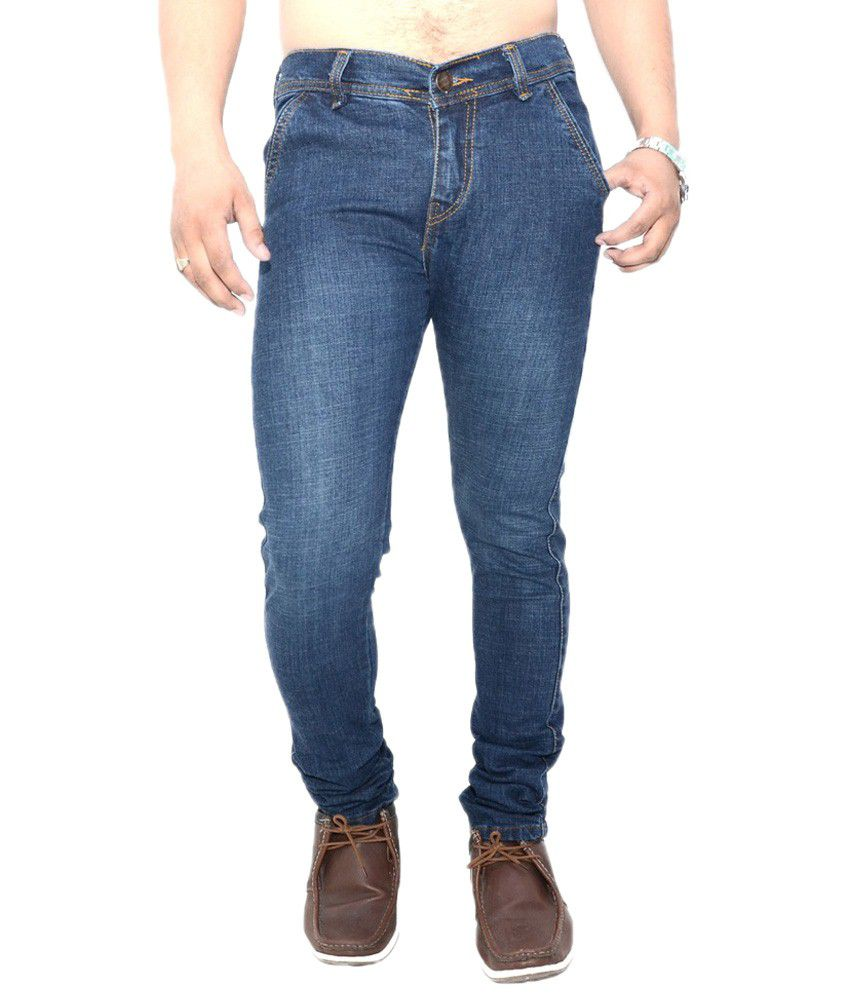 Nation Mania Lovely Blue Jeans For Men