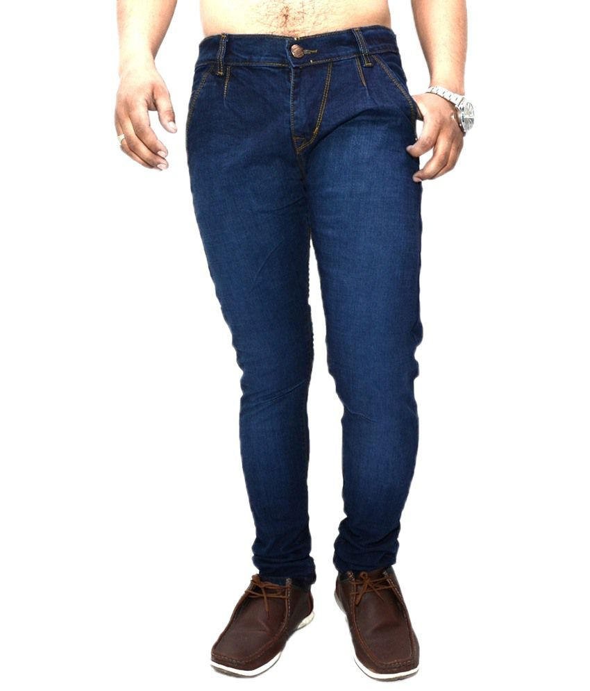 Nation Mania Substantial Blue Jeans For Men