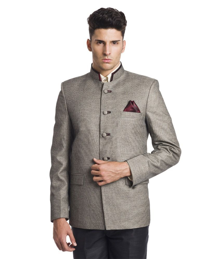 d2a0bdb4822d Wintage Princely Sandy Bandhgala Blazer - Buy Wintage Princely Sandy  Bandhgala Blazer Online at Best Prices in India on Snapdeal