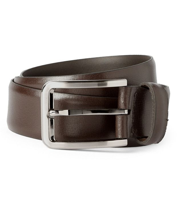 Van Heusen Brown Casual Belt