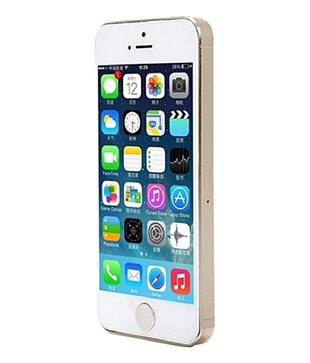 GS Silver Bumper for Apple iPhone 5S