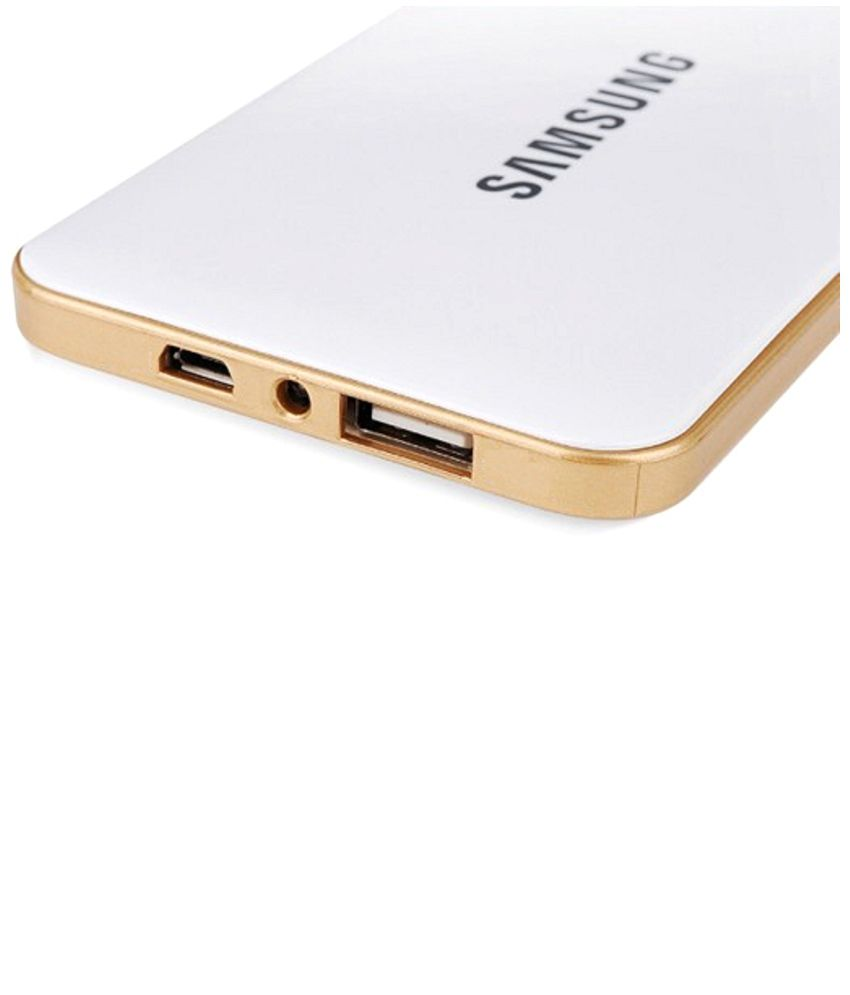 82e7acf897c4ac Samsung 20000mAh USB Portable Power Bank - White - Power Banks Online at  Low Prices | Snapdeal India