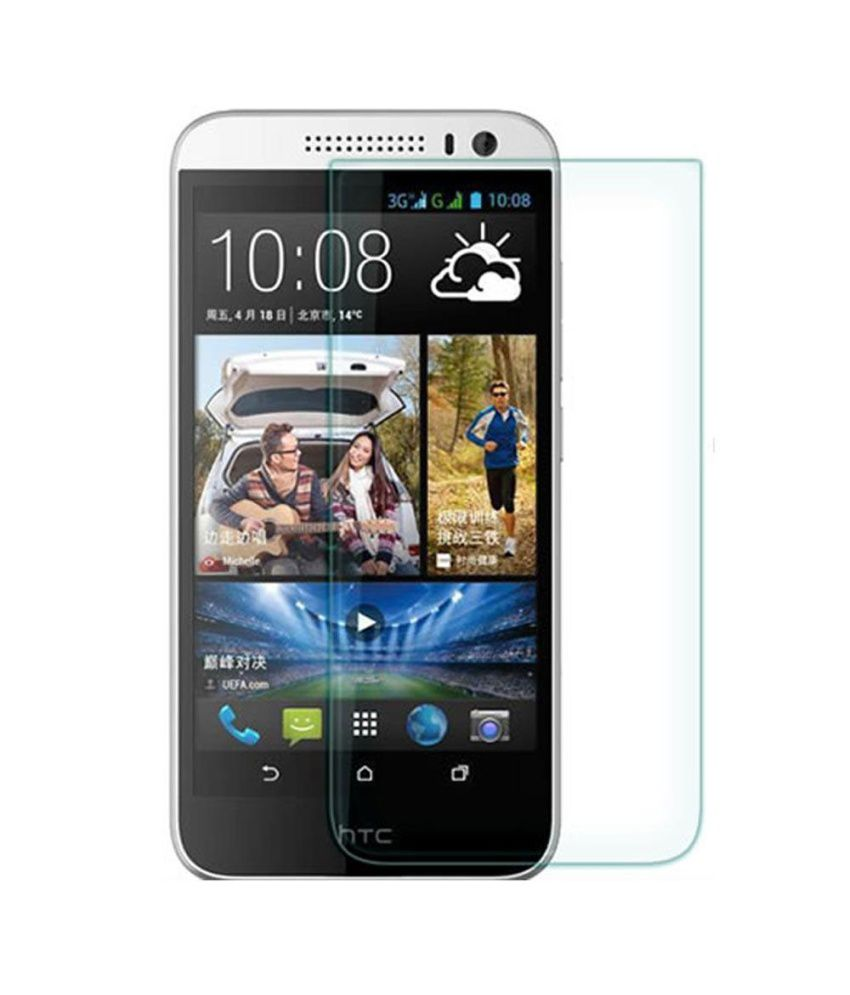 Uni Mobile Care 2 Clear Screen Guards / Screen Protector For Htc Desire 826