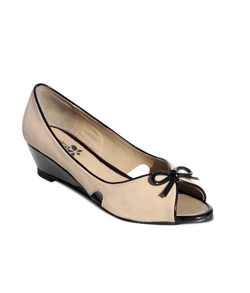 Amica Slexia Multicolor Faux Leather Open Toe Sandals For Women