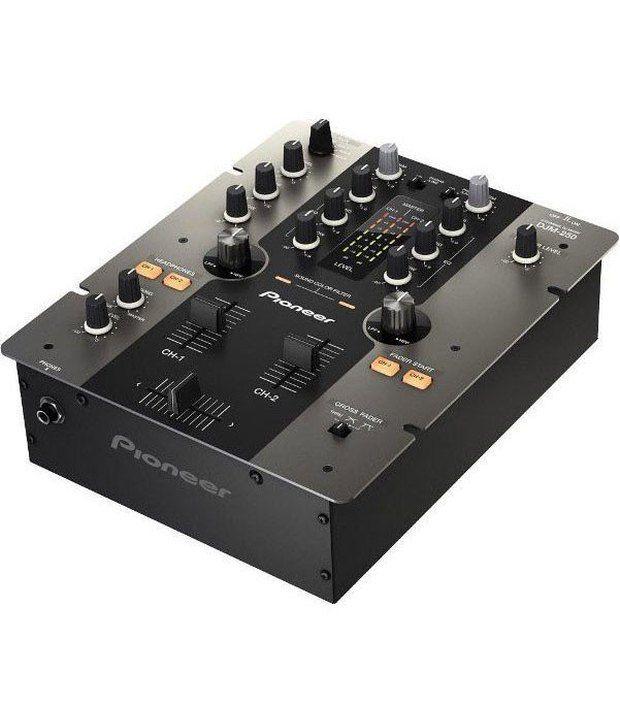 Buy Pioneer DJM 250 DJ Mixer Online at Best Price in India - Snapdeal