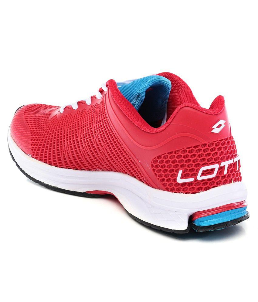 Lotto Solista Run Red Sport Shoes