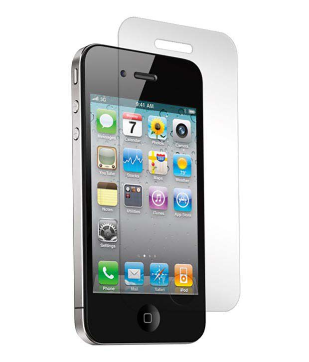 Apple Apple iphone 4 - 4pcs Clear Screen Guard by Snaptic