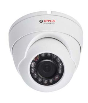 CP Plus D1000L2A 1MP 12 IR HDCVI Dome Camera - White By Snapdeal @ Rs.949