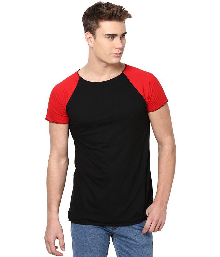 Unisopent Designs Black Cotton Full Sleeves T-Shirt