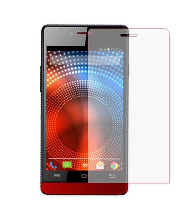 Lava Iris 444 Tempered Glass Screen Guard by Formal Funky