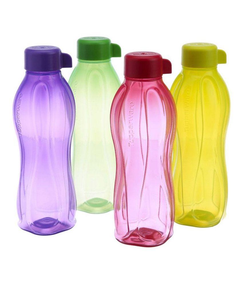 Tupperware Virgin Plastic Matte Finish Water Bottles Fridge