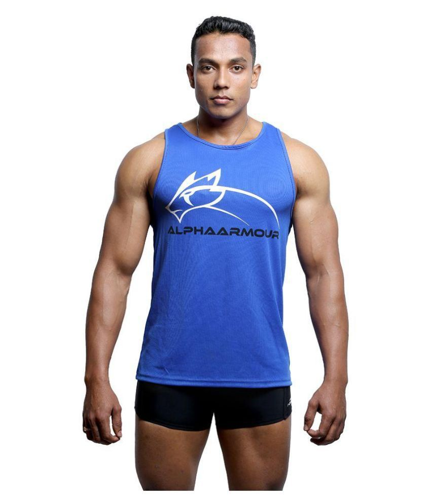 Alpha Armour Blue T-Shirt