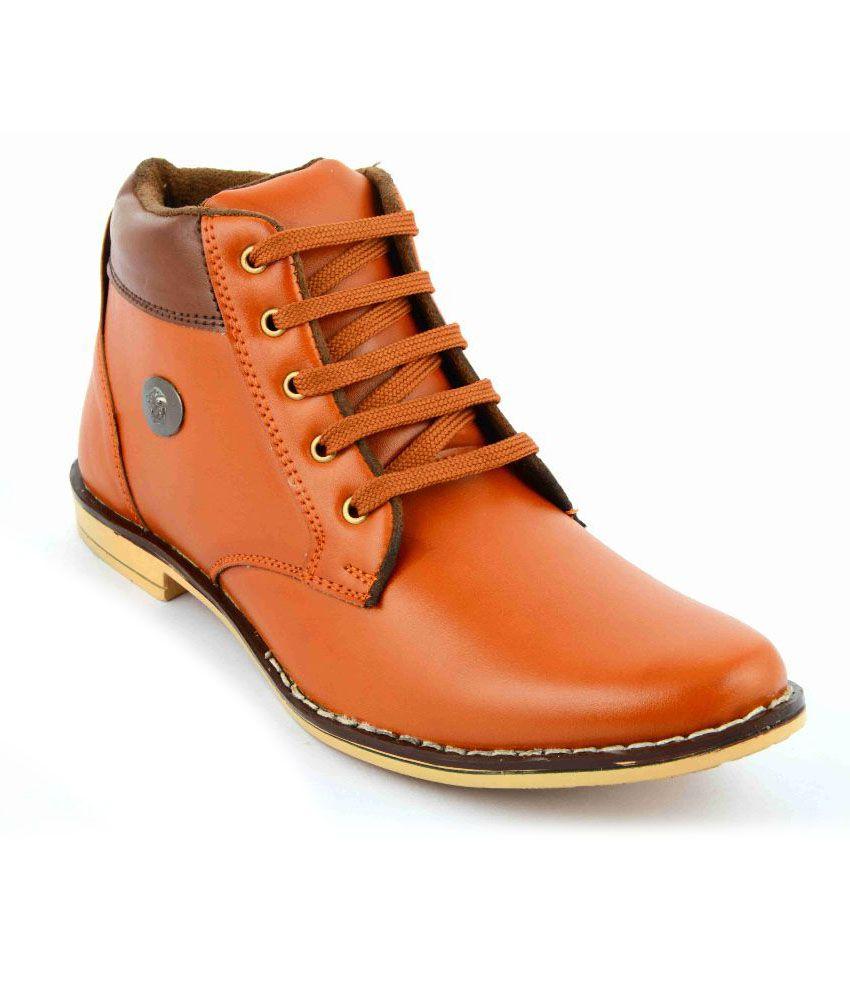 Factory London Tan Boots