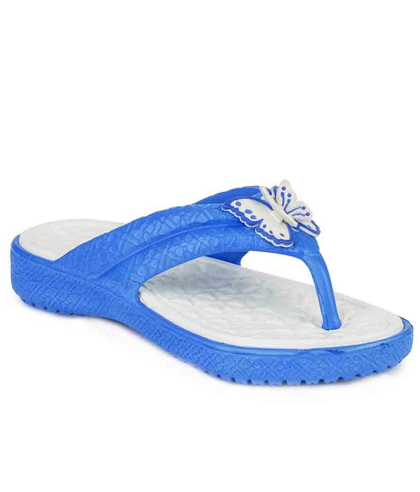 Frestol Blue Flip Flops