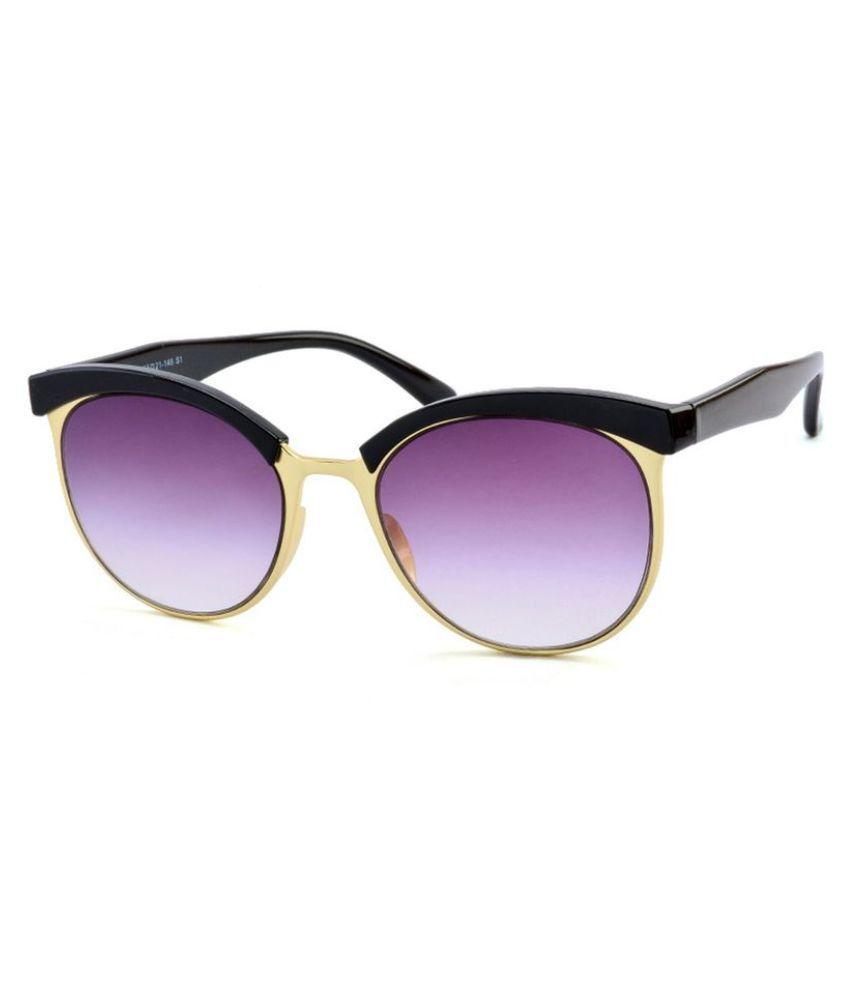 Stacle Purple Round Sunglasses ( STD15132 )