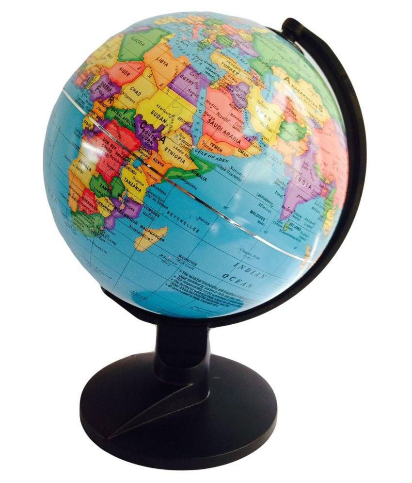 Winners ornate globe 606 political world map buy online at best winners ornate globe 606 political world map gumiabroncs Gallery