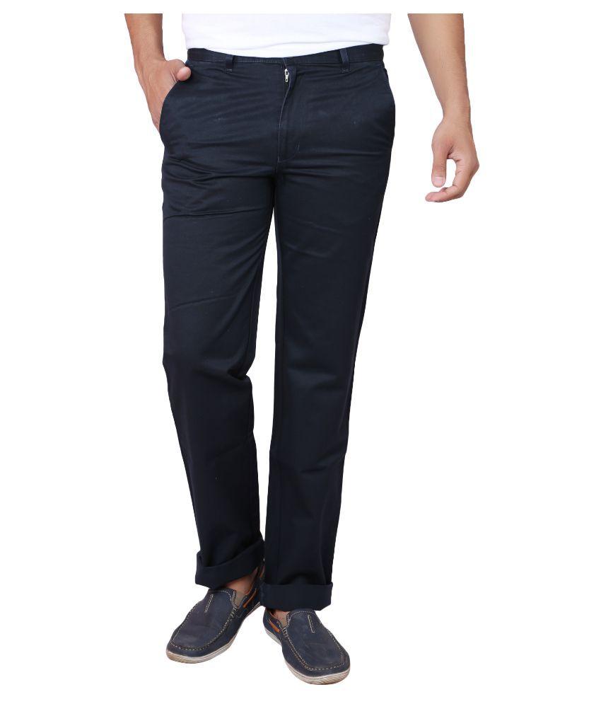 X20 Jeans Black Regular Fit Chinos
