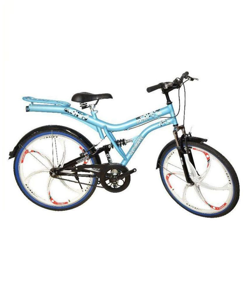 56048767c79 Atlas Cycles Blue Non-Gear Bicycle: Buy Online at Best Price on Snapdeal