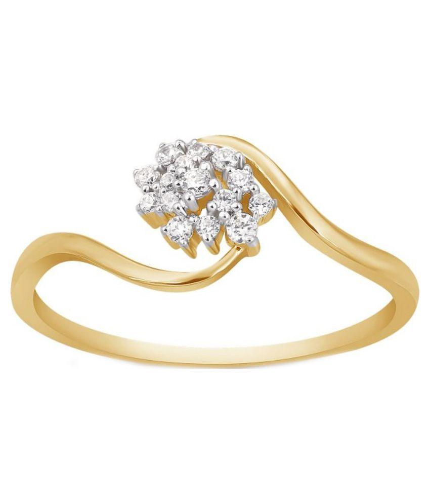 Kama Jewellery 18kt Gold Diamond Ring