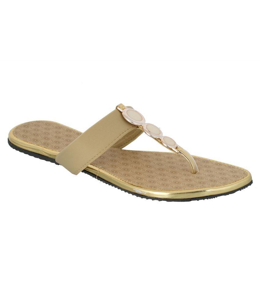Suntrance Beige Slippers