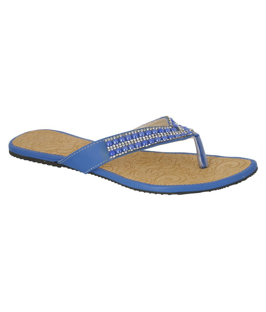 Suntrance Blue Slippers