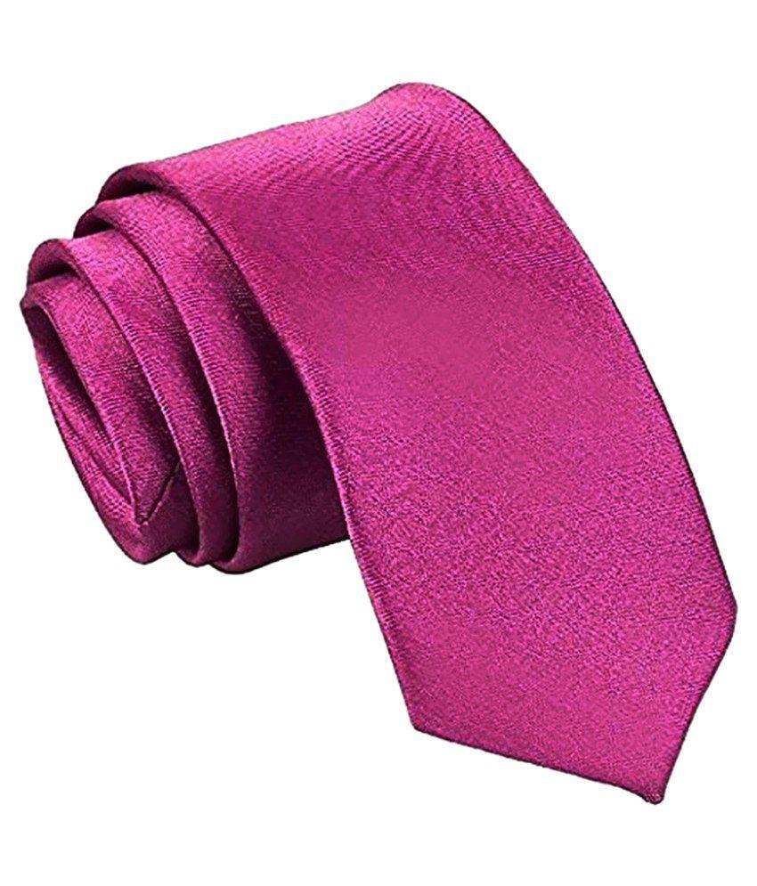 Swarn Multicolour Satin Formal Tie - Pack of 2