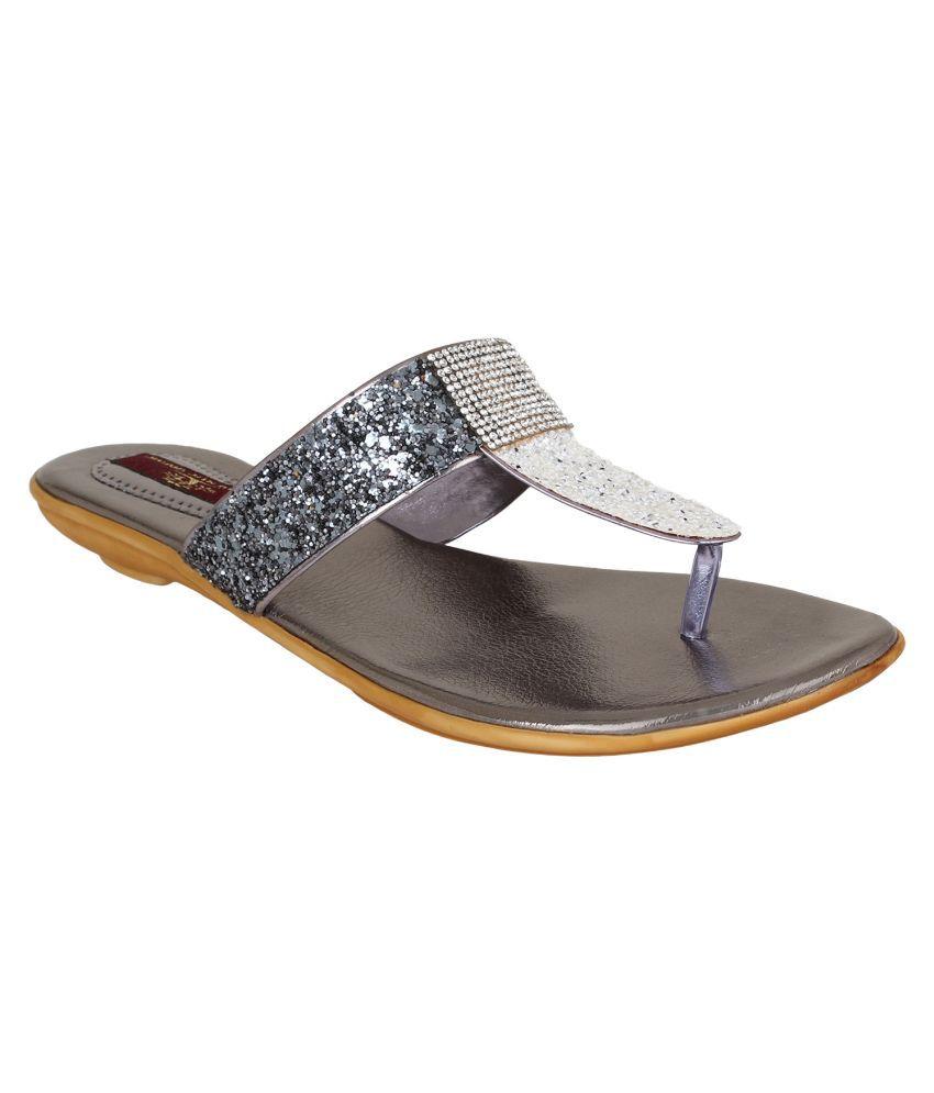 Authentic Vogue Gray Flats