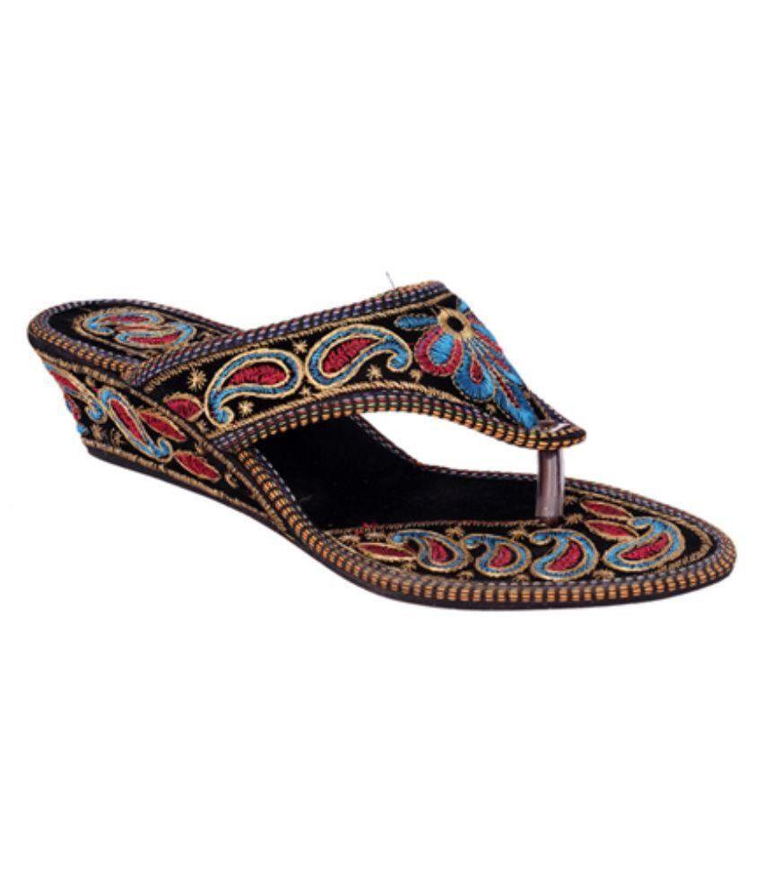 Indcrown Multi Color Heels