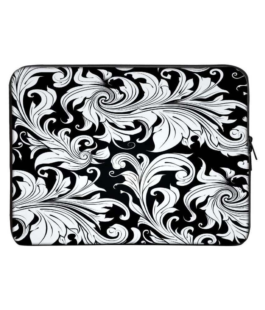 Panda Creation PC_127 Multi Color Polyester Laptop Sleeve