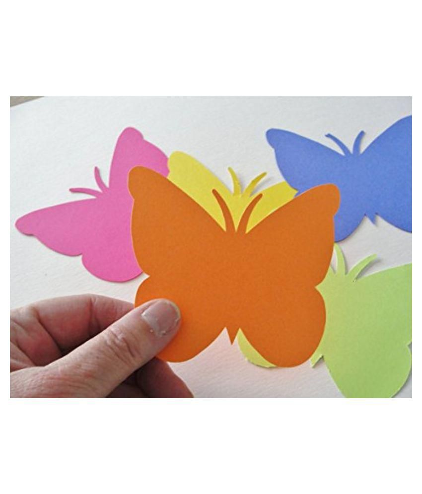 ziggle a4 color paper for photocopy art craft printing 80 gsm 10