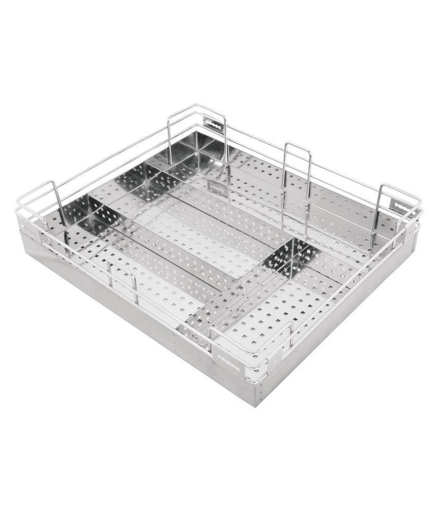 Kitchen Basket Buy Sapphire Stainless Steel Kitchen Basket Online At Low Price In