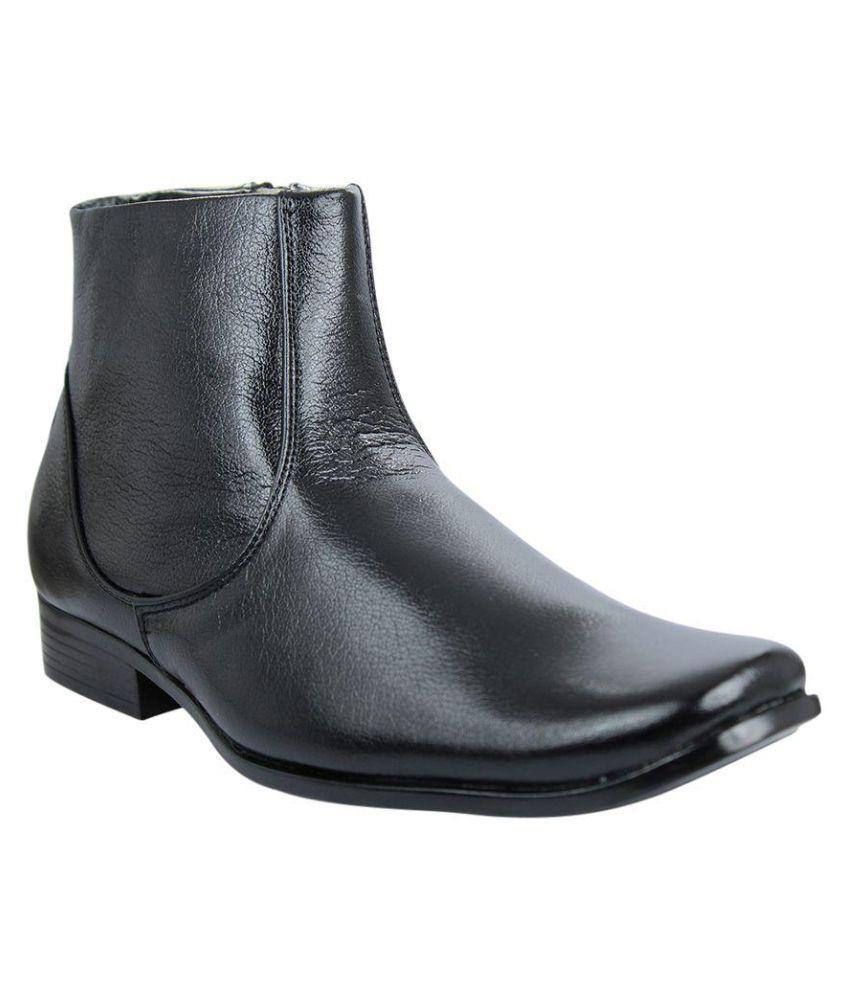Faith Black Boots