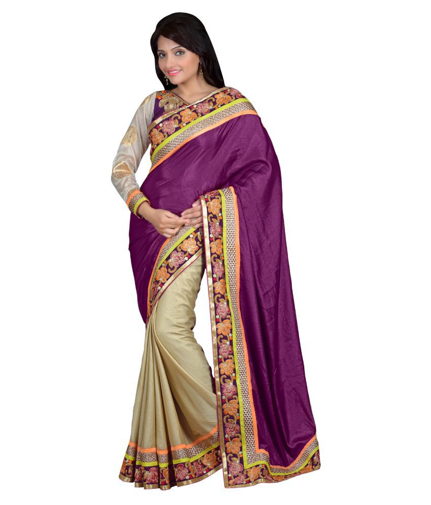 Apple Creation Multicolor Georgette Saree