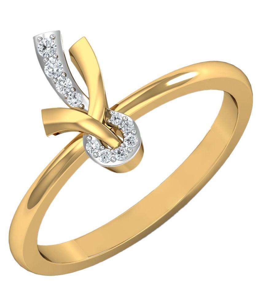 Carat Forever 14Kt Gold Diamond Ring