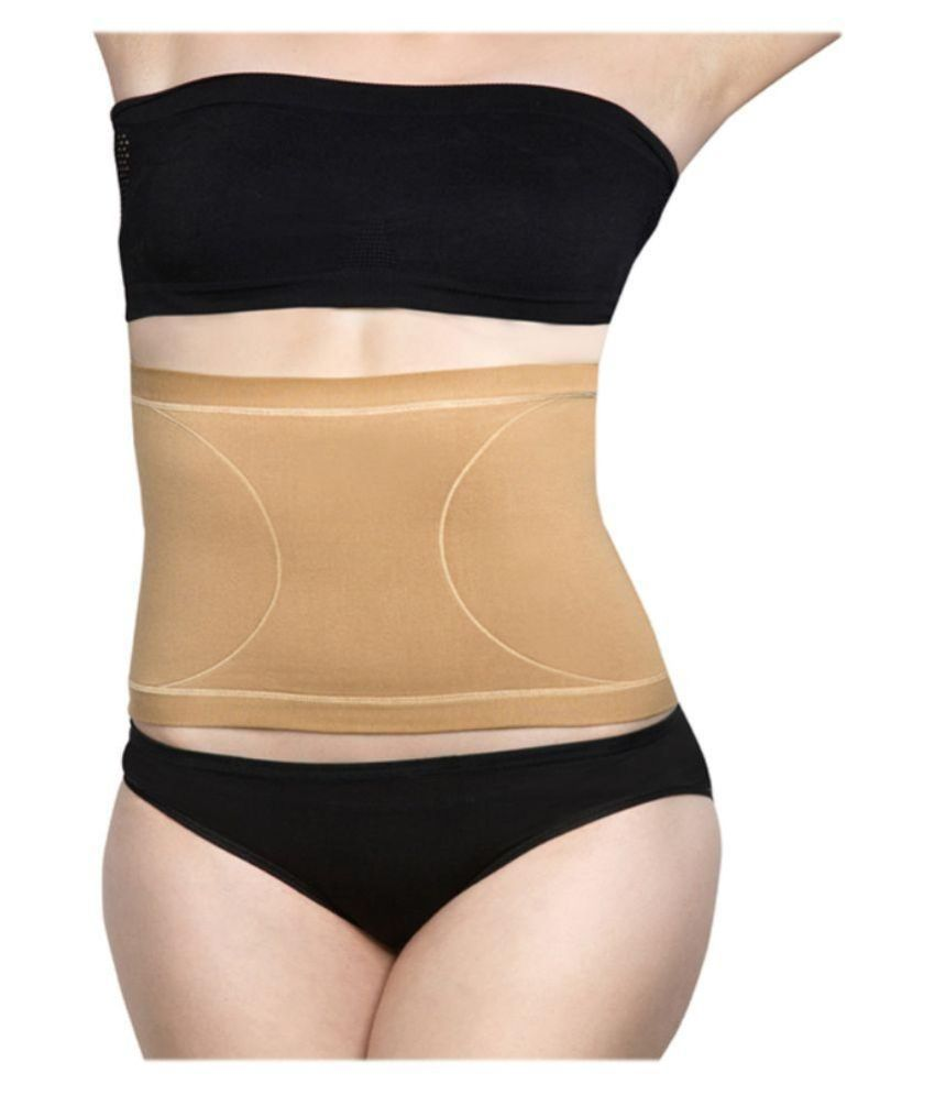 9d430bc32ae80 Buy Body Brace Tummy Slimmer-Cotton Beige-(women Shapewear) Online at Best  Prices in India - Snapdeal