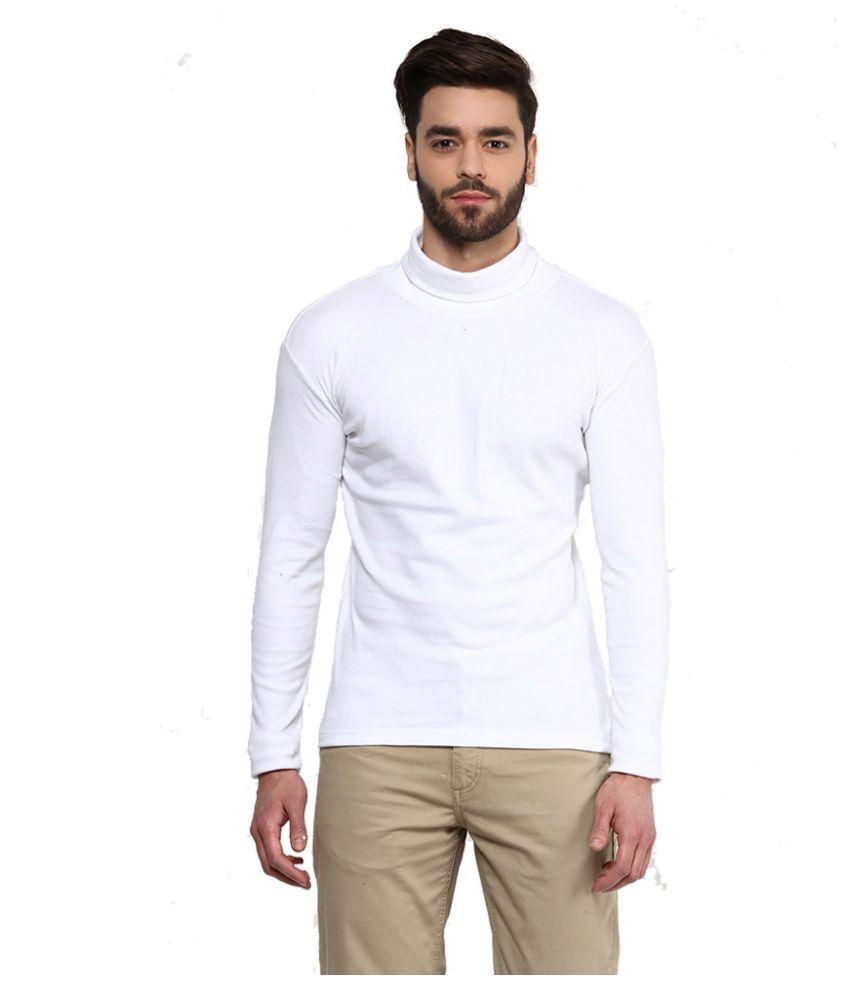 Hypernation White Round T Shirt