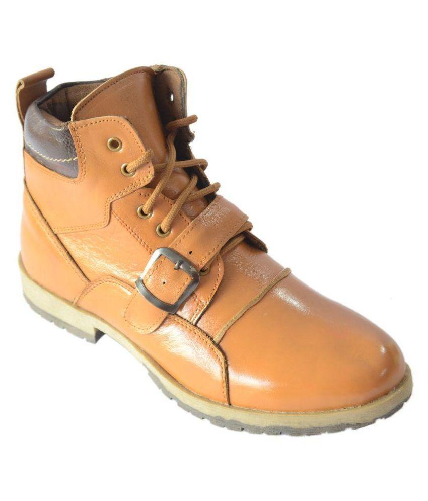 Lee Drive Tan Boots