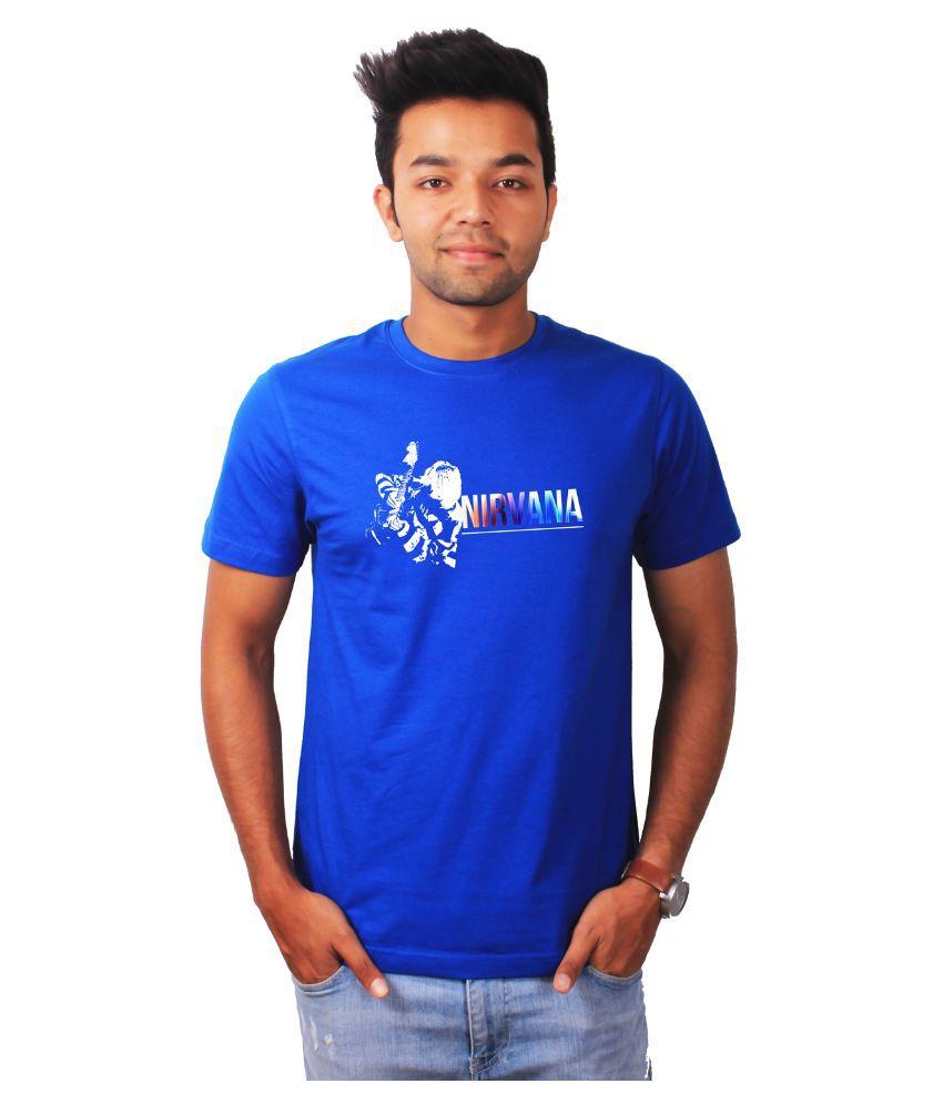 The Banyan Tee Blue Round T Shirt